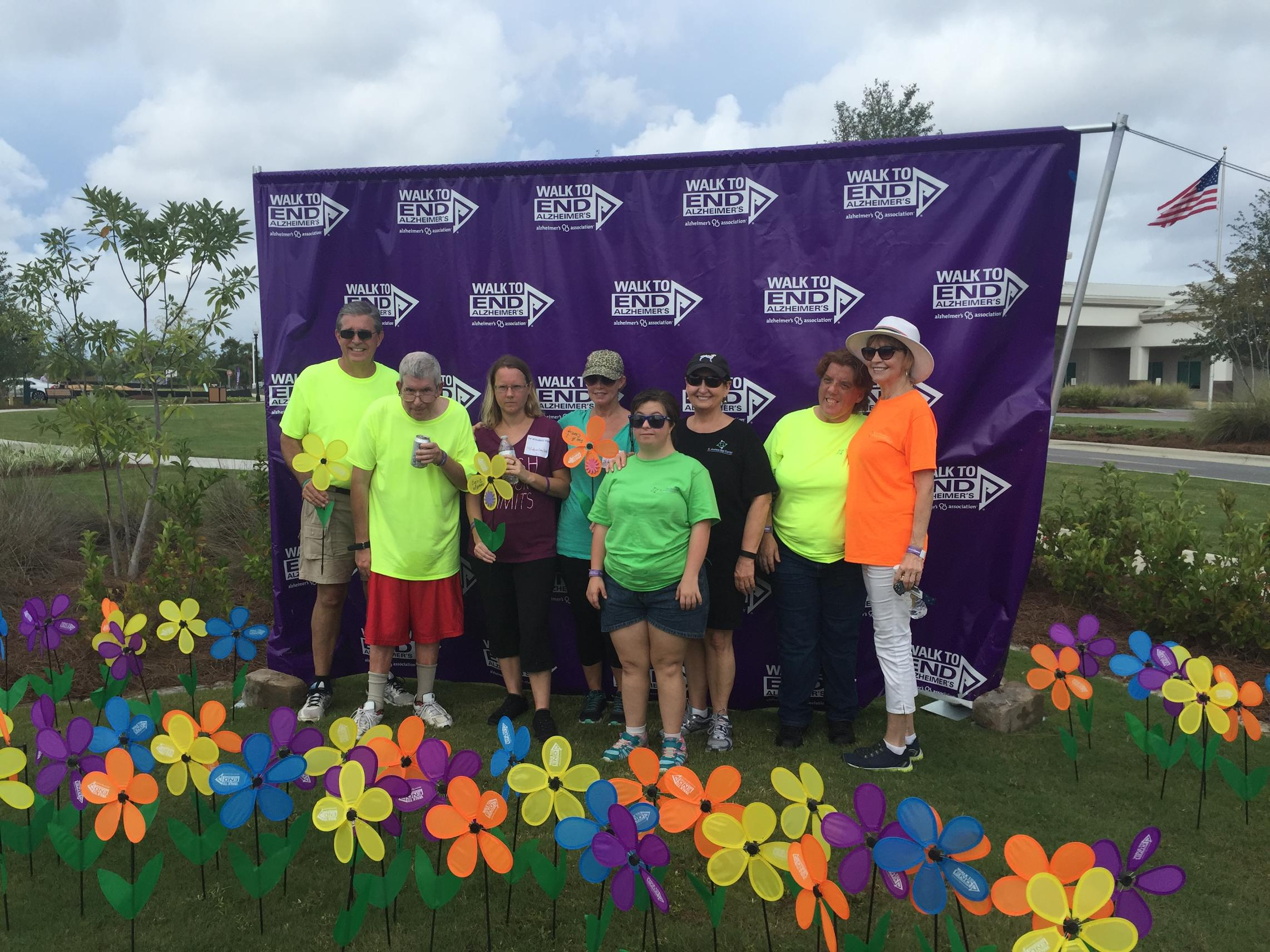 St. Andrew Bay Center Helps Support Alzheimer's Cure – Enjoy Video