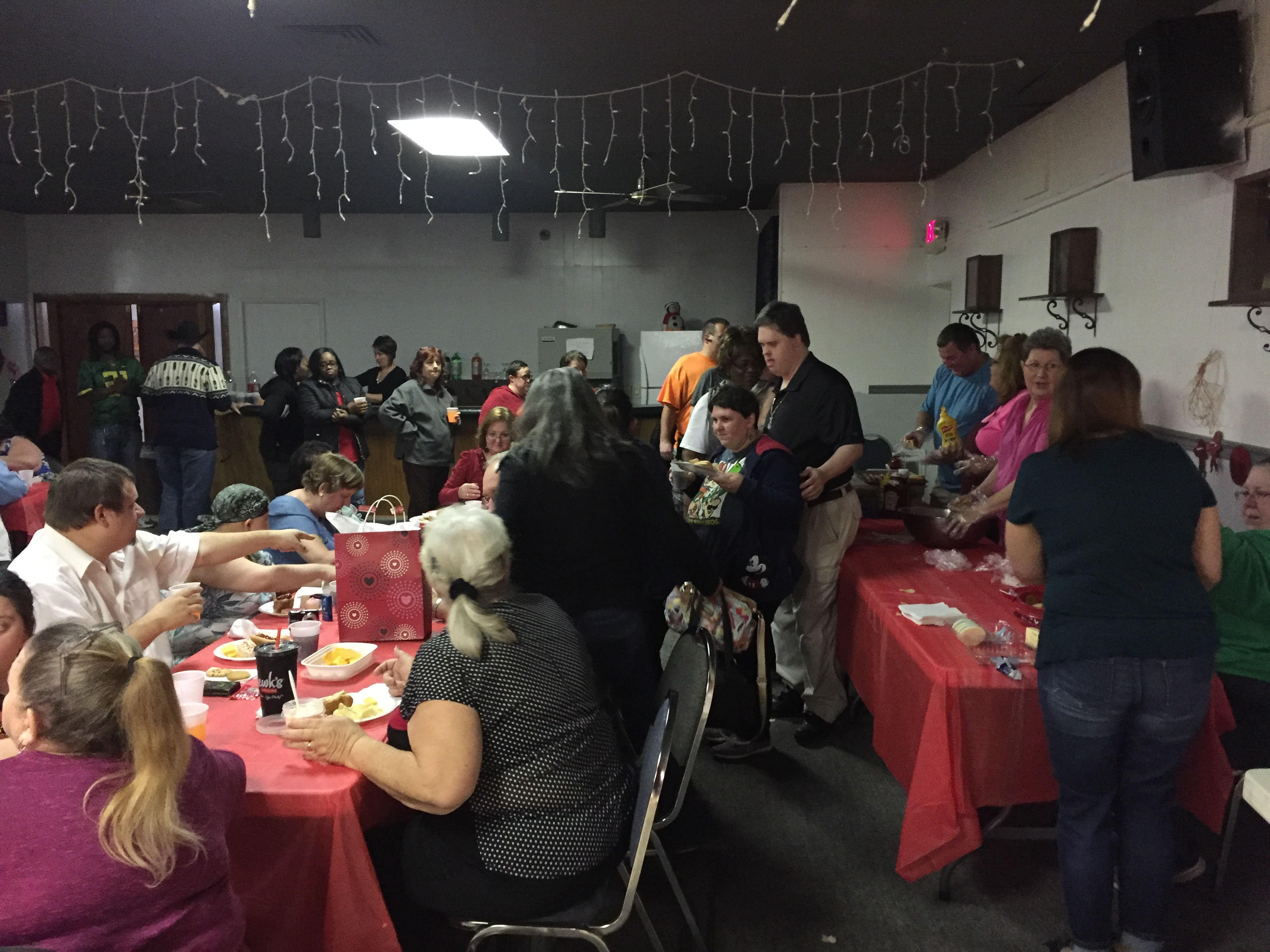 Valentine's Dance at the Moose Lodge