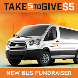Take 5 To Give $5 – Bus Fundraiser